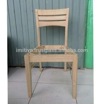 批发家具未完成的木椅架