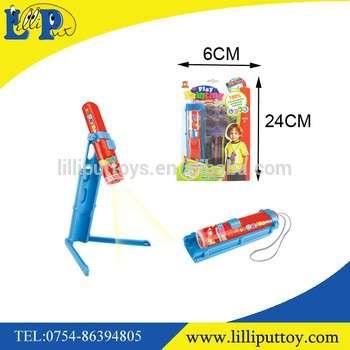 迷你手电筒投影图教育儿童玩具油漆6pcs环保笔和6pcs幻灯片