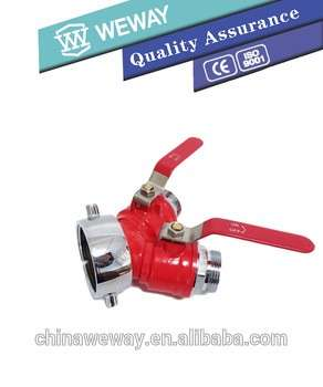Double Valve Double Outlet Decompression Regulator Ductile Indoor Fire Hydrant