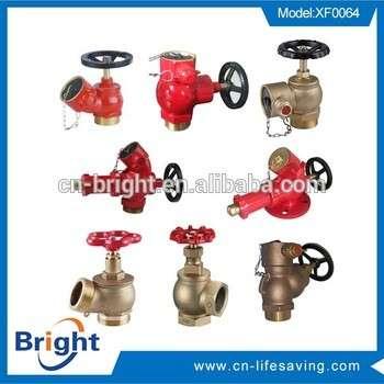 出厂价球墨铸铁消火栓PN10 / 16消防设备