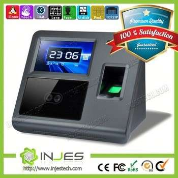Free SDK! Dual HD Camera Facial Recognition Device Face Id Time Attendance System With Access Control