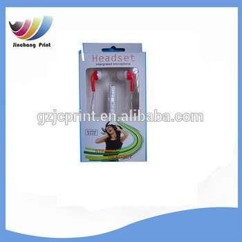 透明PET塑料及电子工业耳机包装
