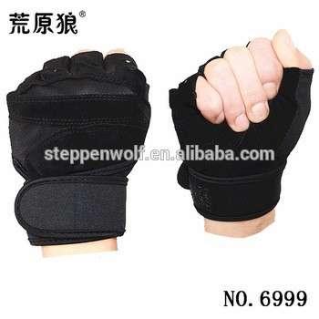 尼龙健美健身半指手套防滑手套CrossFit健身房运动