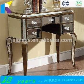 Jingshijie Venetian Mirrored Dressersglass Dressing Tables Bedroom - Venetian glass bedroom furniture