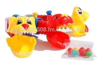 玩具糖果kidzu颌骨与果冻糖果玩具