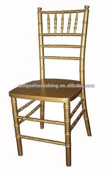 用黄金木基亚瓦里椅子便宜宴会椅出售