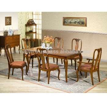 木家具越南工厂家具的房子的桌子和椅子