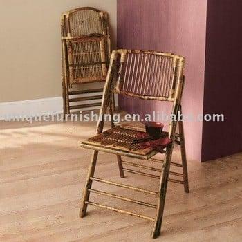 竹制折叠椅