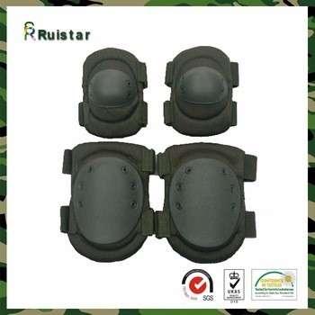 4在1军事膝盖肘垫集,保护护膝