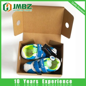Apparel Industrial Use and Corrugated Board Paper Type shoe box