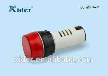 xider红蓝22mm 6V / 12V/110V/220V AC/DC LED信号指示灯ad22-22b / BS