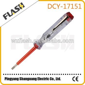 热销螺丝刀测试笔电动测试笔电压测试仪