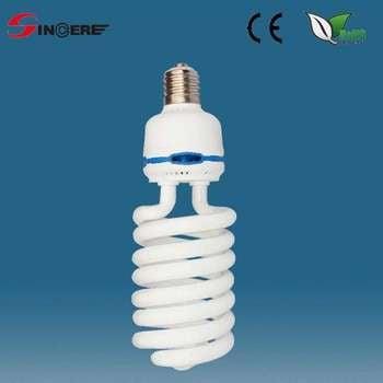 螺旋形节能灯E27、E40 / B22节能照明