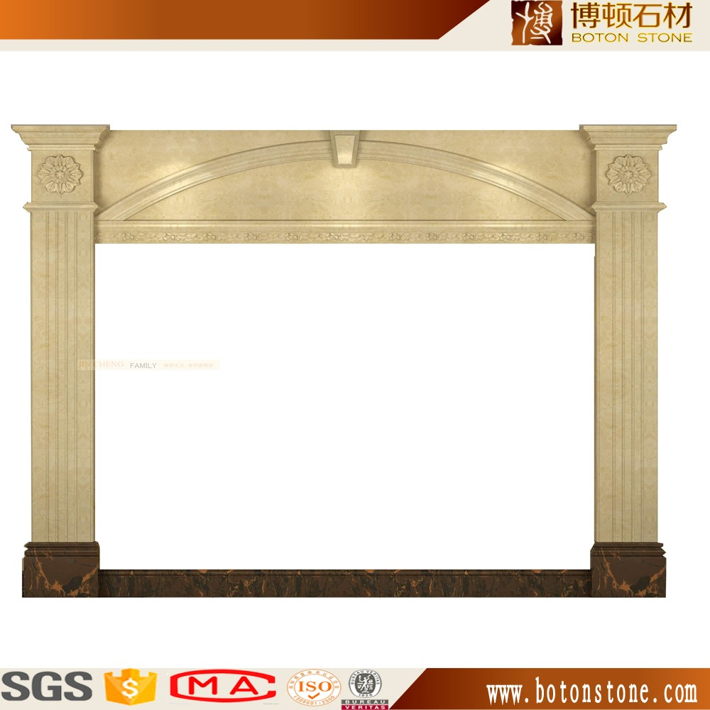 2016 botonstone new stone fireplace parts design for sales