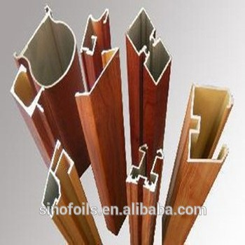 木纹装饰接触转印纸铝型材的真空热转印膜1.27m×500m门箔