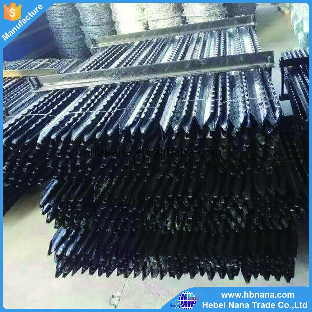 Best service carbon steel star picket/ Y post for construction ranch farm and garden