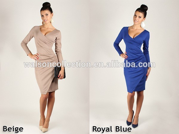 Ladies Designed Elegant Bodycon Shift Party Evening Career ...