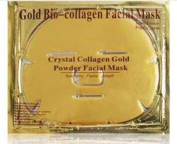 联邦免费120pcs /很多美容产品24K黄金胶原蛋白水晶面膜