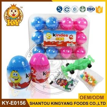 塑料惊喜蛋玩具糖果