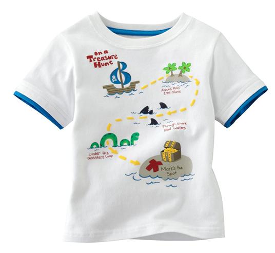 Wholesale Short Sleeve Forks Design Children Boy T-shirt