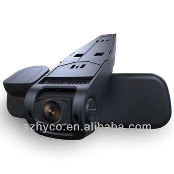 最新的1080p隐藏汽车黑匣子安装在汽车后视镜