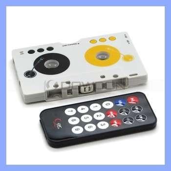 老式汽车二手卡式录音机MP3录音机