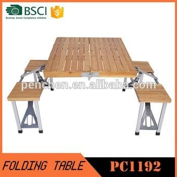 最优惠价格户外家具竹制桌椅出售