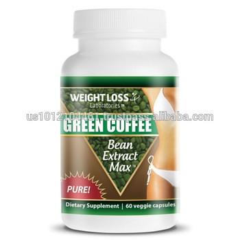 高效的自然混合减肥胶囊绿色咖啡减肥