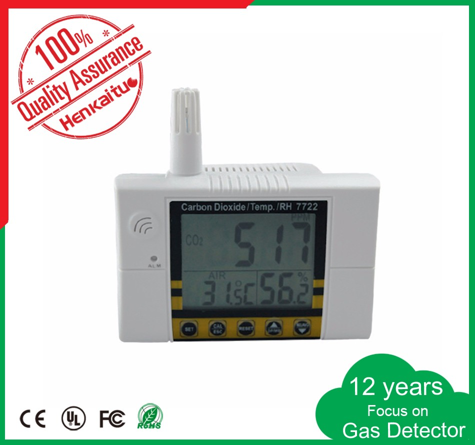 Digital Alarm Wall Mountable Desktop Type Humidity Meter