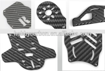 全碳纤维片材对GoPro坐骑,FPV赛车飞机碳纤维板