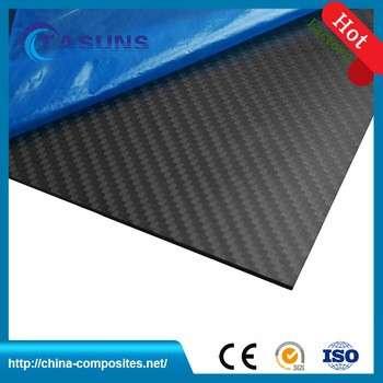 中国制造的碳纤维布的3k碳纤维片材与出厂价格