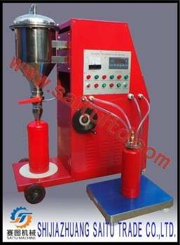 fire extinguisher service machine-refilling maintenance equipment