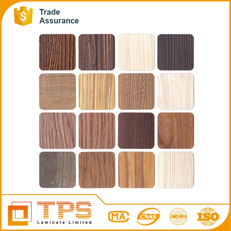 Synchronized Wood Grain HPL For Laminate Sheet Kitchen