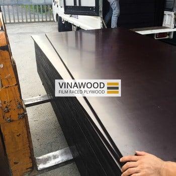 越南电影贴面胶合板,棕色薄膜(越南制造商)