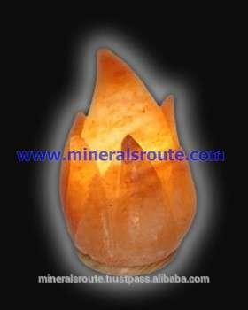制作喜马拉雅天然时尚水晶花式岩盐灯