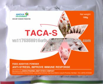 TACA的兽医提供维生素、矿物质和电解质对猪