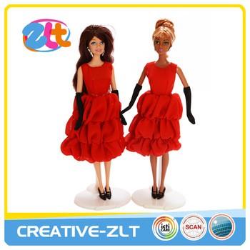 时尚美丽的美国公主娃娃裙