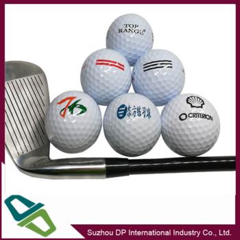 销售各种印刷LOGO高尔夫球