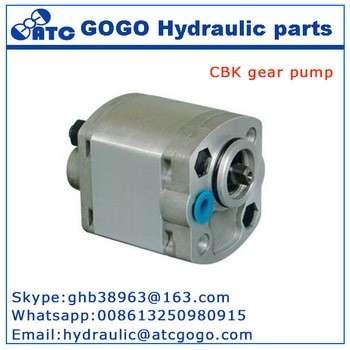 CBK系列液压系统部分12V直流水泵电机