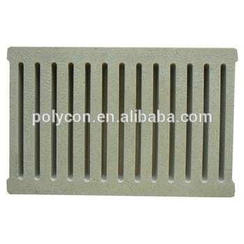 最佳聚合物混凝土排水罩