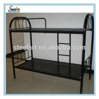 Strong Military Metal Bunk Beds Double Deck Bed