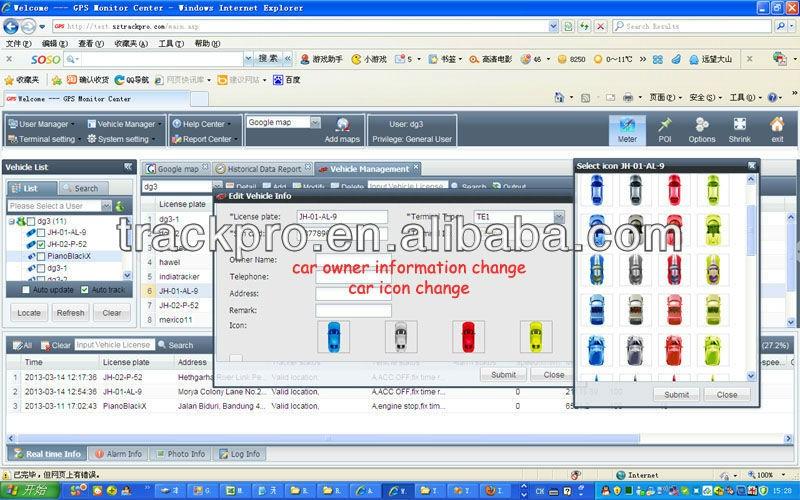 Professinal Online Web Based Tracking System Gps Software