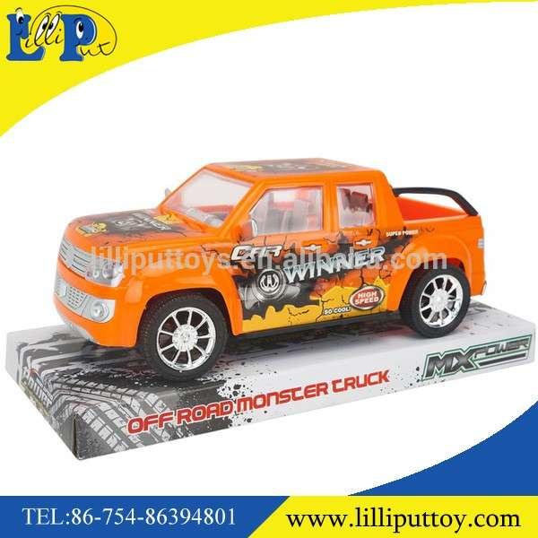 最受欢迎的高速货车摩擦塑料卡车玩具车