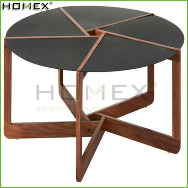 现代设计的客厅家具没有折叠咖啡桌/实木餐桌homex_bsci