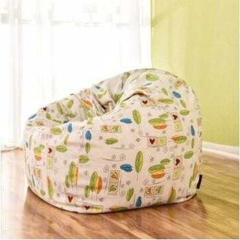 定制打印婴儿豆袋椅子批发