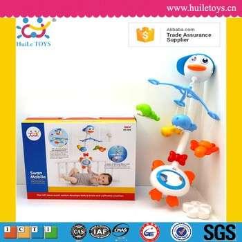 高质量的汇乐玩具塑料天鹅批发婴儿移动与ASTM