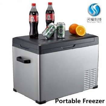 Mini Refrigerator Freezers Small Portable Deep 12v Car