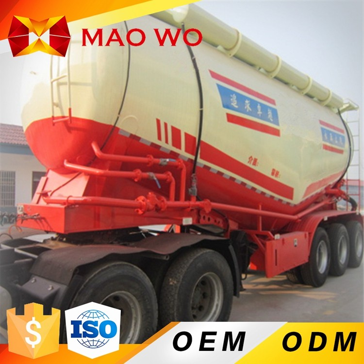 Hot Tri-axle Used Heavy Trucks U Haul Car Bulk Cement Trailers For Sale