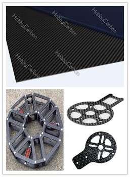 100%碳纤维3K碳纤板数控切割