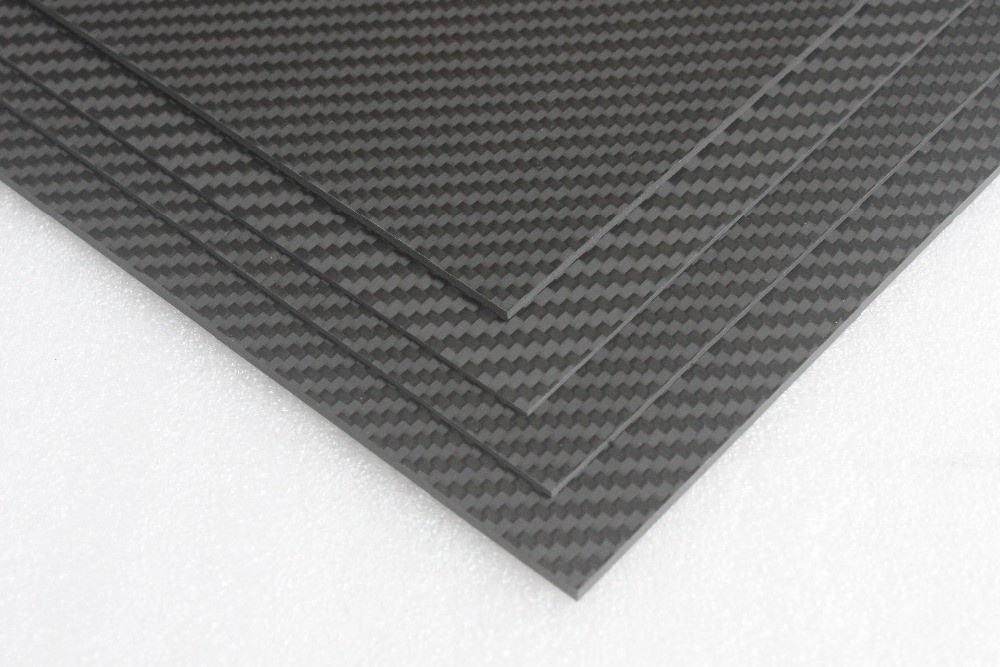 Carbon Fiber Plastic Sheet 1mm 1 5mm 2mm 2 5mm 3mm